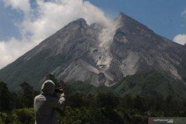 Gunung Merapi luncurkan awan panas sejauh 1.100 meter