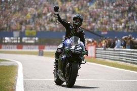 Pebalap Yamaha kepung Marquez di FP2 GP San Marino