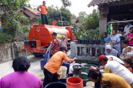 Tujuh kecamatan mengalami kekeringan