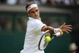 Roger Federer genapi catatan 10-0 lawan petenis wildcard di Grand Slam