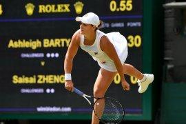 Barty menang mudah di putaran kedua Wimbledon
