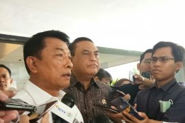 KSP Moeldoko: Presiden Jokowi belum susun kabinet