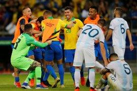 Brazil singkirkan Argentina berkat kombinasi Liverpool-Manchester City