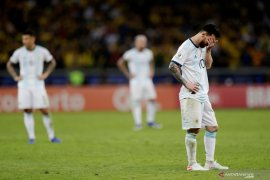 Permainan Messi membaik, namun Argentina masih puasa gelar
