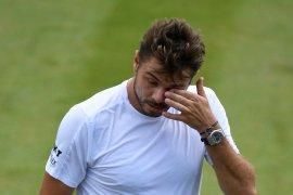 Stan Wawrinka kalah dari petenis jangkung di Wimbledon