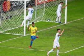Kombinasi Liverpool-Manchester City antar Brazil singkirkan Argentina