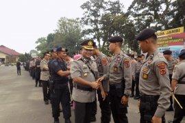 Kapolda Jambi sambut kepulangan personel dari BKO  Jakarta
