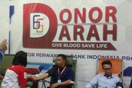 BI Maluku laksanakan donor darah peringati HUT ke-66