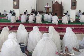 55 jamaah calon haji Aceh Jaya ikut manasik