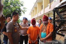Polrestabes Medan ringkus kurir ganja asal Aceh
