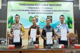 Penegak hukum di Banjarmasin sepakat terapkan e-ICJS