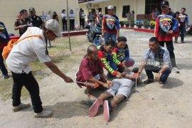 Rekonstruksi abang bunuh adik kandung di Tapteng, ada janji yang tidak bisa ditepati