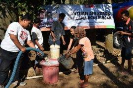 ACT: 50.000 liter air atasi kekeringan di Gunungkidul dan Lombok