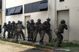 TNI AU dan Militer AS latihan perang di Medan