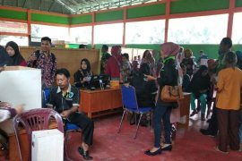 Warga Olak  Batanghari antusias ikut pemilihan BPD  e-votting
