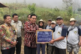 Bank Indonesia Malang salurkan bantuan ke petani kopi