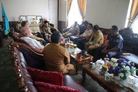 Manajemen PT. NHM temui Gubernur Malut  janji cairkan dana CSR