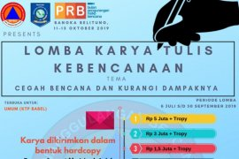 BPBD Babel ajak masyarakat ikuti lomba kreatifitas PRB 2019