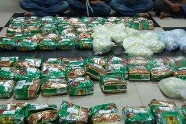 BNN Sumut sita 81.862 gram sabu dari Malaysia, satu tersangka tewas