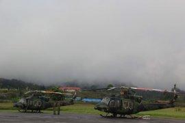 Cuaca buruk jadi kendala pencaharian helikopter hilang