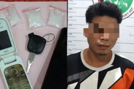 Warga Haruyan Dayak ditangkap saat mengantar sabu di Lapangan Pelajar