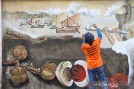 """""""Seni mural"""" angkat sejarah Aceh"""