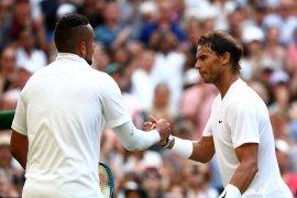 Rafael Nadal bungkam Nick Kyrgios di babak kedua Wimbledon