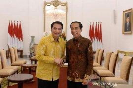 Wacana tiga periode jabatan Presiden belum dibicarakan DPR