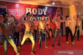 160 peserta meriahkan body contest Kapolres HST