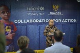 Baznas-Unicef  bantu anak korban krisis kemanusiaan
