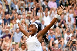 Cori Gauff kembali telan korban di putaran ketiga Wimbledon