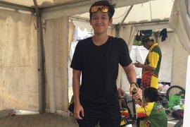 Elga Kharisma turun di Kejurnas BMX 2019