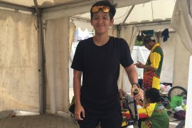 Elga Kharisma akui satu tahun vakum BMX