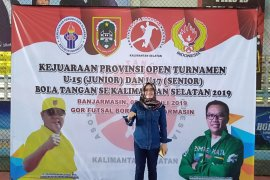 OpenTurnamen U-15 momentum kebangkitan olahraga bola tangan