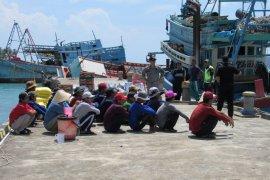 KKP telah tenggelamkan 516 kapal ilegal sejak 2014
