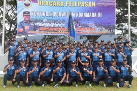 Pangkoarmada III lepas kontingen Armada III ikuti Porwiltim di Surabaya