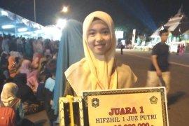 Menghapal saat Subuh, resep hafidzah cantik asal Banten juara nasional