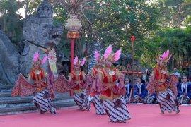 Tari tradisional Yogyakarta ditampilkan di PKB