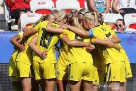 Swedia rebut peringkat ketiga Piala Dunia Putri usai tundukkan Inggris 2-1