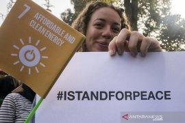 Aksi damai untuk dunia