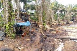 """Aktivitas """"illegal drilling""""  potensial picu kebakaran Tahura"""