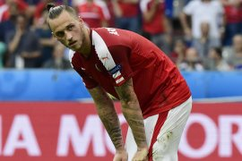 West Ham jual Arnautovic ke klub Cina