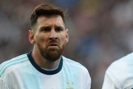 Messi terancam larangan bermain dua tahun