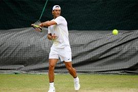 Rafael Nadal akan hadapi Federer keempat kalinya di Wimbledon