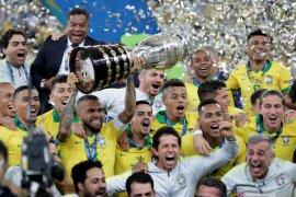 Daftar juara Copa America, Brasil kini koleksi sembilan trofi
