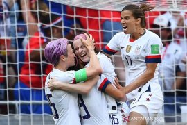 Kalahkan Belanda, AS pertahankan gelar juara dunia sepak bola putri