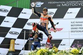 Menang di MotoGP Ceko, Marquez kokoh di puncak