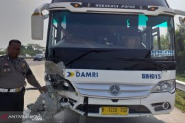 Polisi masih buru sopir bus maut penyebab tabrakan beruntun di Bogor