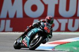 Quartararo melesat di FP2 GP Ceko, Marquez di peringkat dua