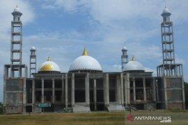 Tim Pansus DPRA puji pembangunan Masjid Agung Abdya